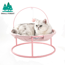 Small Forest Pet Hammock Cats Beds Indoor Cat House Mat for Warm Small Dogs Bed Lounger Cute Sleeping Mats Products multifunctional pet hammock cats beds indoor cat house mat for warm small dogs bed kitten lounger cute sleeping mats products