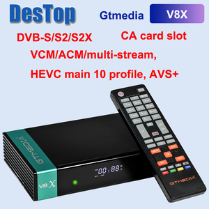 2020 Newest GTMEDIA V8X H.265 DVB-S/S2/S2X Satellite TV Receiver With CA Card Slot Support Conax Irdeto Viaccess Nagravision(China)