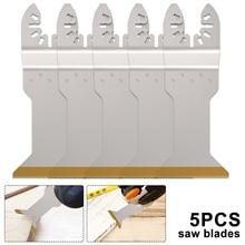 5 pièces multi fonction bi métal lame de scie de précision oscillant lame de scie multi outils pour rénovateur