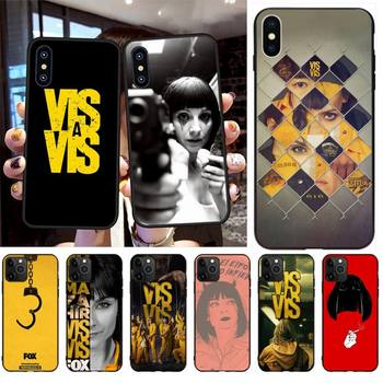 HPCHCJHM Vis a vis Black TPU Soft Phone Case Cover for iPhone 11 pro XS MAX 8 7 6 6S Plus X 5S SE XR case платье vis a vis vis a vis vi003ewetbt6