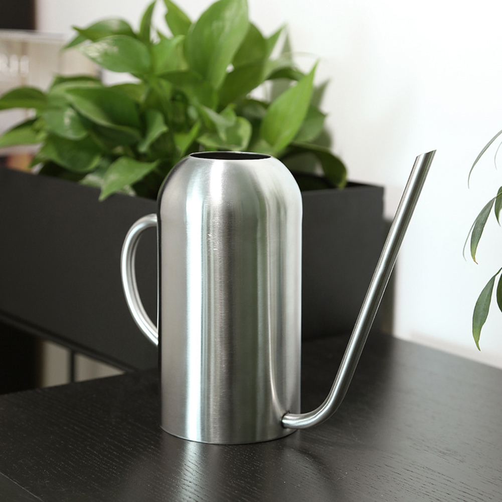 Stainless Steel Watering Can Bonsai Indoor Plants Water Pot With Long Spout  Plant Long Mouth Sprinkling Pot Garden Tool