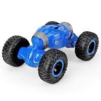 Car Off Road Vehicles Rock Crawler 2.4Ghz Remote Control Car Monster Truck 4WD Dual Motors Electric Racing Car Kids Toys RTR Rec