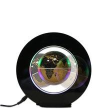 LED Floating Globe Magnetic Levitation Light Home Decoration Night Lamp UK Plug
