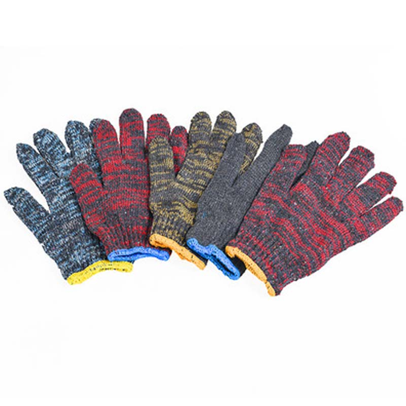 Labor Insurance Gloves Wear Cotton Yarn Line Site Non-slip Thickening Gloves