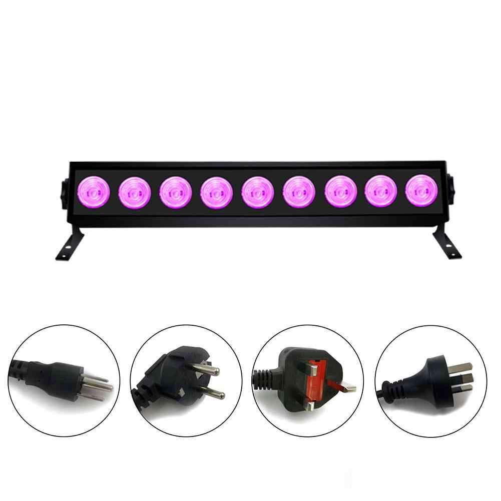 "27W UV 9 LED אור גופי נייד Blacklight מנורת עבור UV פוסטר UV אמנות Dimmable אולטרה סגול מנורת DJ המפלגה האיחוד האירופי/ארה""ב/בריטניה/AU Plug"