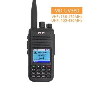 Image 1 - TYT MD UV380 Bộ Đàm Dual Băng Tần MD 380 MD380 VHF UHF Kỹ Thuật Số DMR 2 Chiều Đài Phát Thanh Thời Gian Kép Dlot Thu Phát