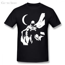 Комикс moon knight вымышленный рыцарь черная футболка harajuku
