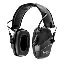 Electronic shooting earmuffs outdoor sports anti-noise amplification tactics hunting hearing protection headphones foldable BK