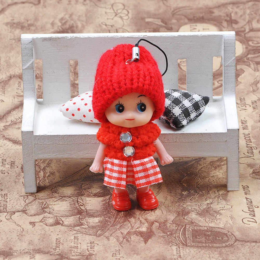 5Pc 素敵な子供のおもちゃソフトインタラクティブおもちゃの人形ミニ人形少年少女のための人形 & ぬいぐるみペンダントエルフに棚