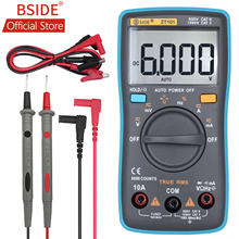 BSIDE Ture RMS Digital Multimeter ZT101 Multifunction AC/DC Voltage Current Resistance Capacitance Frequency Tester