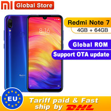 Xiaomi Redmi Note 7 4GB 64GB Quick Charge 4.0 Fingerprint Recognition 48mp New Telephone
