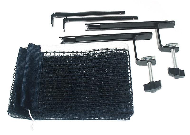 Huieson, профессиональный набор для настольного тенниса, сетка для пинг-понга, набор для стойки, аксессуары для настольного тенниса на 5,8 см, менее толстый стол - Цвет: Черный
