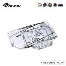 Bykski – bloc d'eau GPU pour ASUS RTX3090 3080 STRIX, carte graphique, couverture complète, VGA, N-AS3090STRIX-X