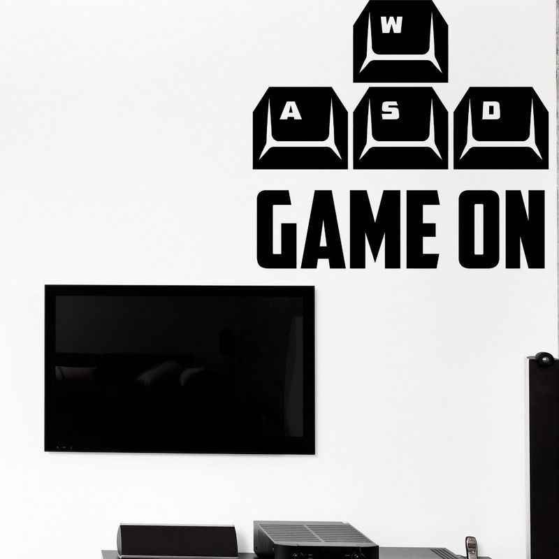 لعبة غرفة مقبض ملصق ألعاب ملصق مائي الألعاب الملصقات ألعاب الفينيل صور مطبوعة للحوائط Parede ديكور جدارية لعبة فيديو ملصق