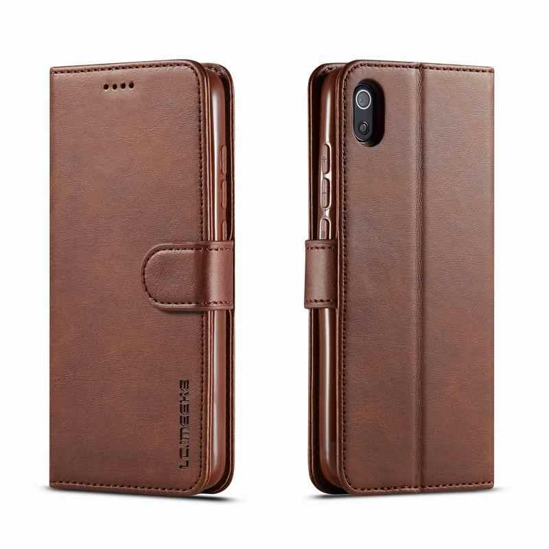 สำหรับ Honor 8 S Huawei Y5 2019 ฝาครอบกรณีพลิกแม่เหล็กธรรมดากระเป๋าสตางค์หนังกระเป๋า Honor 8 S KSE-LX9 y 5 Coque
