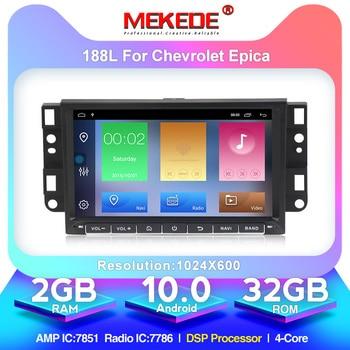 MEKEDE HD 1024X600 Android10.0 Car DVD Player For Chevrolet Aveo Epica Captiva Spark Optra Tosca Kalos Matiz Radio GPS Stereo