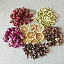 Украшение свечей цветок лимон свеча Лист Лепесток DIY Изготовление материала ароматерапия чистый соевый воск натуральные ингредиенты