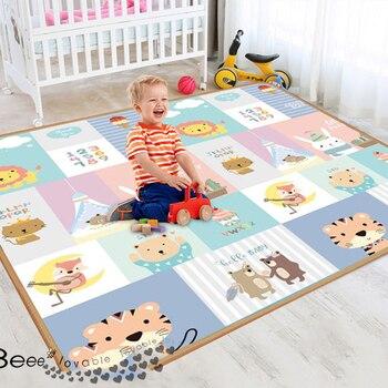 XPE Environmentally Friendly Thick Baby Crawling Play Mat Folding Mat Carpet Play Mat for Children's Safety Mat Kid Rug Playmat