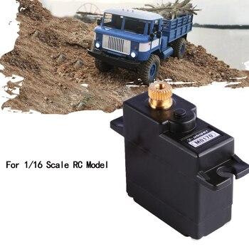 K-power M0170 21G/2.5KG/0.09S High Speed Metal Gear Micro analog Servo for 1/16 WPL RC Car B16 B24 B36 C14 C24 Glider Plane