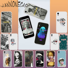 Newest special edition art David sculpture Cover Shell Phone Case For iPhone 8 7 6 6S Plus X XS MAX 5 5S SE XR 11 11pro promax(China)