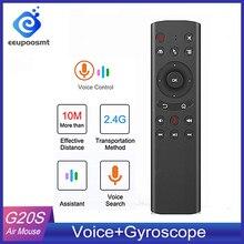G20 Điều Khiển Giọng Nói Không Dây 2.4G G20S Chuột Bàn Phím Chuyển Động Cảm Ứng Mini Điều Khiển Từ Xa Cho TV Thông Minh Android Box máy Tính PK G10 S