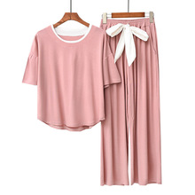 Modal Material  Sleepwear Set Pajamas Women Pajama Set 1191 ichthyologyand limnology tools in fisheries management