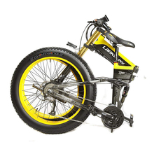 26 Fat Tire Folding Electric Bicycle Shimano 27 Speed 48V Snow Mountain Beach E-Bike mountain bike fat 48v 500w samsung lithium battery electric bicycle 10 an large capacity 27 speed 26 x 4 0 electric snow bike