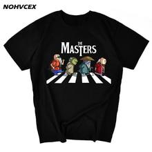 Dragon Ball  Master Roshi, Yoda, Old Masters Dohko And Dungeon Parody MenS T Shirt