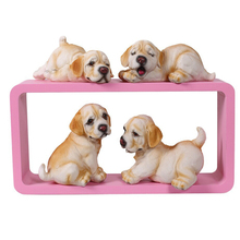 Creative decoration dog animal silicone mold  tasted resin mold/cute puppy soap mold/new