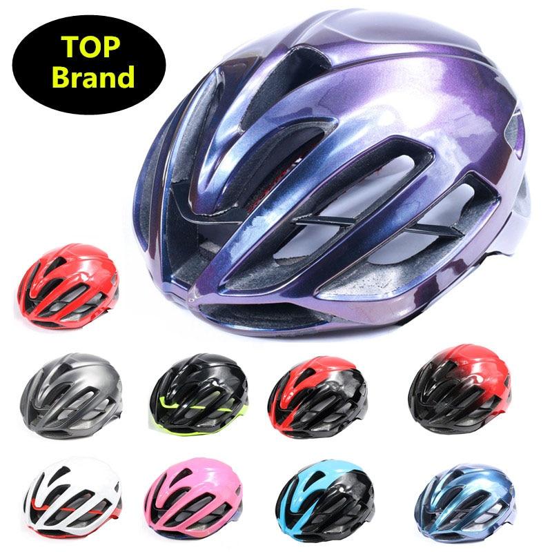 Casque de cyclisme ultraléger de marque italie casque de vélo aero de route rouge ciclismo vtt casque de vélo éluder le casquette de préséance bmx casque velo D