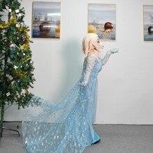 Traje da mascote fantasia festa de gelo princesa roupa de aniversário adulto terno carnaval dia das bruxas desenhos animados ao ar livre desempenho festa anime