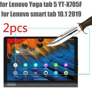 Película de vidro temperado protetor, para lenovo yoga tab 5 2019 10.1 tab YT-X705f, tela inteligente para tablet protetor