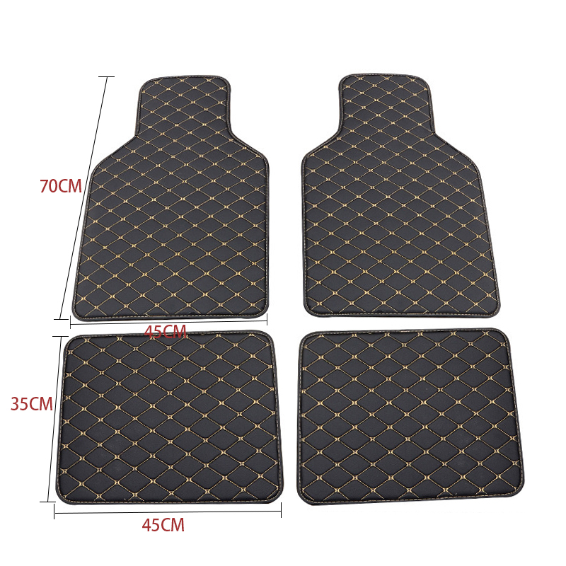 Floor Mats Universal Leather Car Rugs