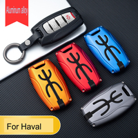 Aluminum Alloy Car Key Fob Cover for Great Wall Haval/Hover H6 H7 H4 H9 F5 F7 H2S Case Key Wallet Auto Accessorie|Key Case for Car| |  -