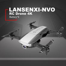 LANSENXI-NVO RC Drone 4K กล้อง WiFi Optical Flow Real Time Video RC Quadcopter 3 แบตเตอรี่(China)