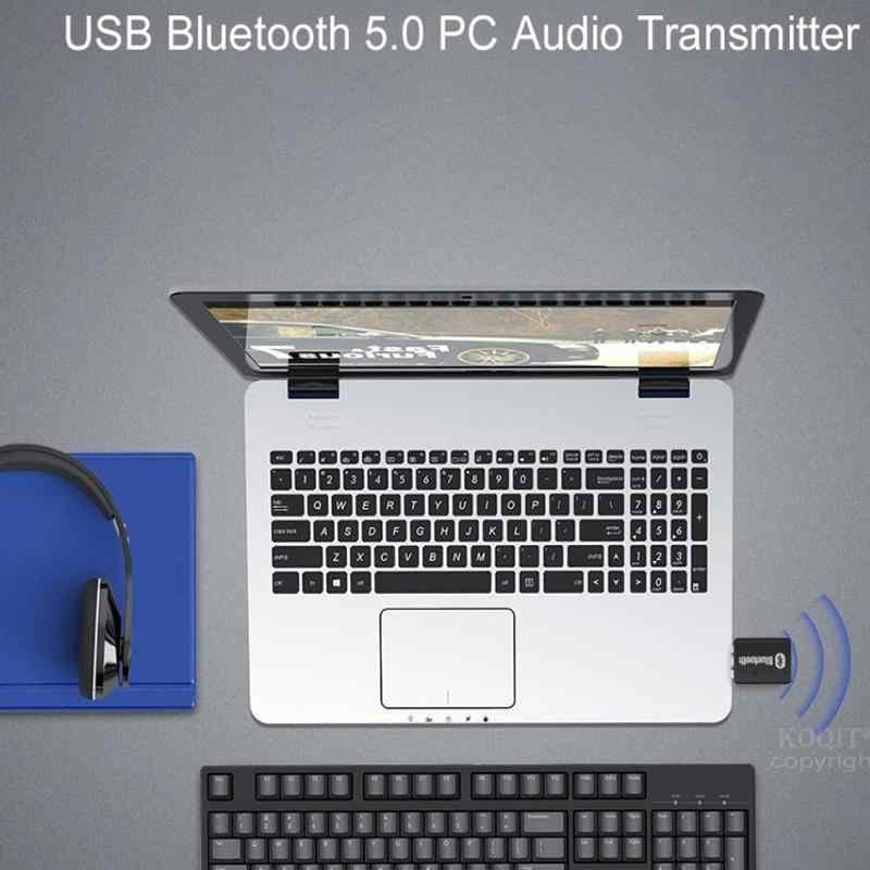 ПК Музыкальный беспроводной передатчик аудио 5,0 bluetooth адаптер USB bluetooth передатчик BT5.0 EDR AD2P для динамика приемник с гарнитурой