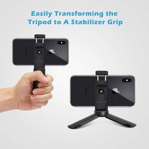 Image 3 - Duszake Mini Statief Met Bluetooth Remote Shutter Voor Iphone Huawei Mini Telefoon Statief 360 Roterende Telefoon Houder Clip Stand