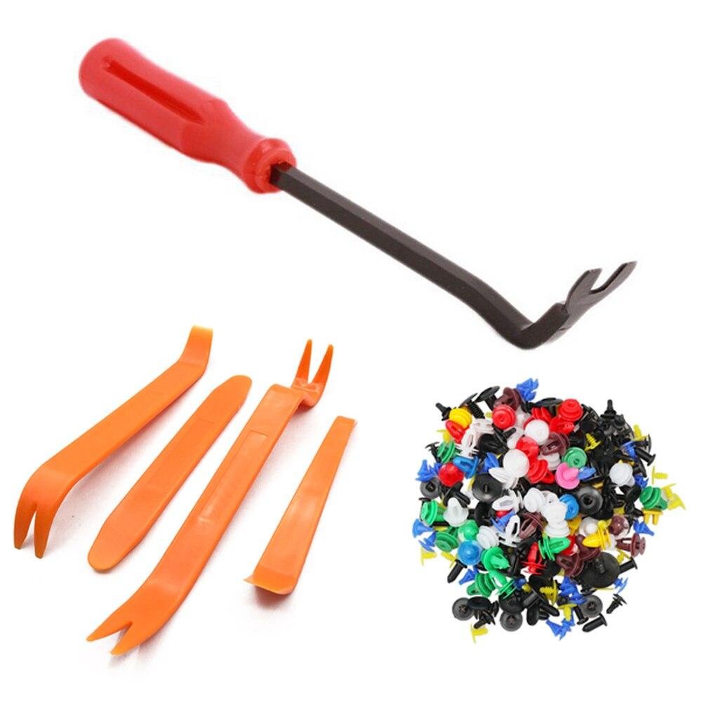 Инструмент для снятия автомобильного крепления, приборной панели, заклепки, зажимы для отделки автомобильной двери, панели, монтажная крыш...