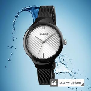 Image 5 - SKMEI נשים שעונים יוקרה למעלה מותגים פשוט קוורץ שעון יד אופנה נשי ילדה שעון Relogio Feminino גבירותיי שעוני יד