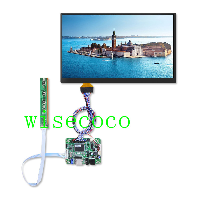 10.6 inch 1920*1080 FHD LTL106HL01-001 IPS LCD Module Monitor Display  HDMI LVDS for raspberry Pi 3