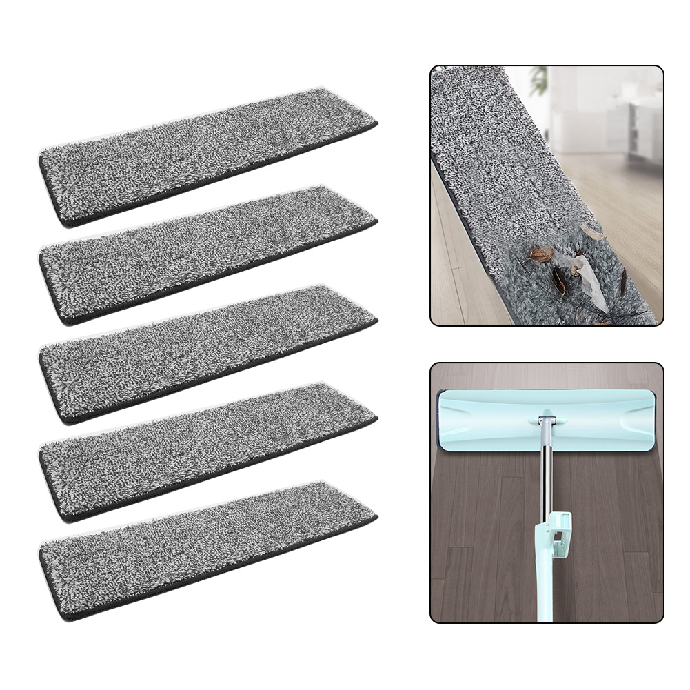 2/4/6/8PCS Microfiber Floor Mop Cloth Replace Rag Mop Self Wet And Cleaning Paste Mop