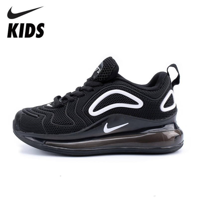 NIKE AIR MAX 720 Kids Shoes Original New Arrival Children Running Shoes Lightweight Sports Outdoor Sneakers #849558