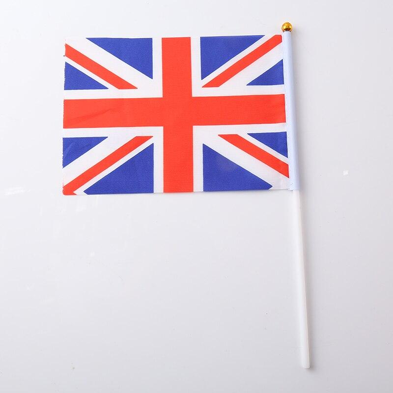 Canadian Flag Brazilian Flag Spanish Flag Italian Flag Print Stripes Fashion 30.5*21*0.5cm Terylene Nylon Nationalflag National - Цвет: United Kingdom