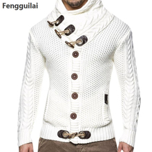 Fall Winter Fashion Kart Sweater Spacious Men Adjust 100% Hot Ternary Knitted 4xl