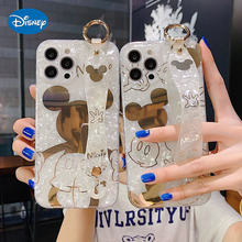 Disney 2021 Nieuwe Mode Shell Patroon Mickey Mobiele Telefoon Case Voor Iphone 12 11 Pro Max Xr Xs Se 7 8 Plus Luxe Volledige Cover Case