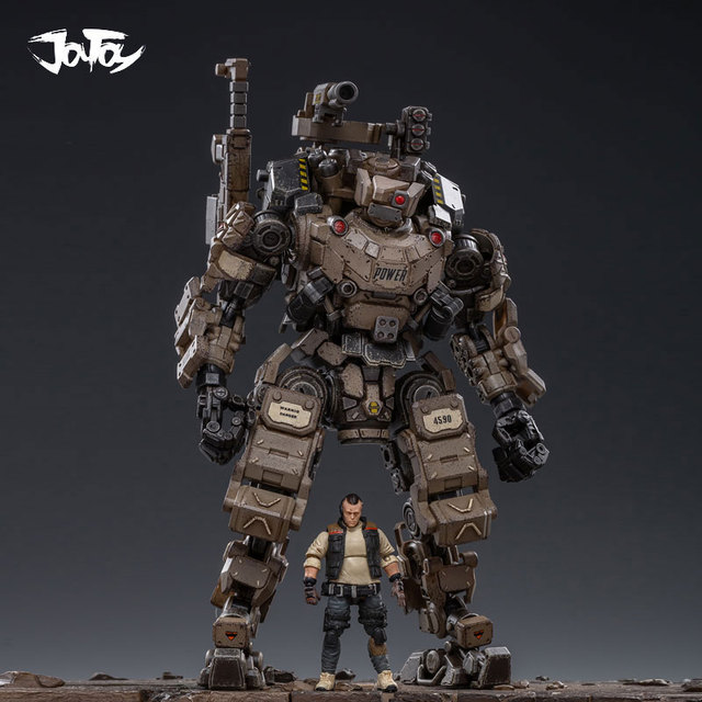 JOYTOY 1:25 figur roboter FSTEEL KNOCHEN MECH Militär modell puppe Mecha Weihnachten präsentieren geschenk Freies verschiffen