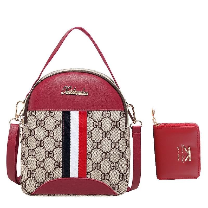 New Multi-Function Small Bagpack Female Fashion Woman Backpack Teenage Female School Shoulder Bag Girls Kids Ladies School Bag