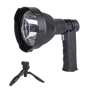 Светодиодный фонарик XM-L L2 3800LM, ручные рудничные светильники для кемпинга, Перезаряжаемый USB прожектор 4000 мАч, 3 режима газона