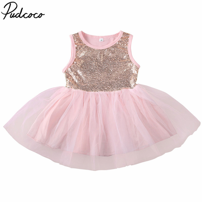 Baby Girls Tutu Tulle Dress Princess Party Lace Flower Dresses Wedding Birthday