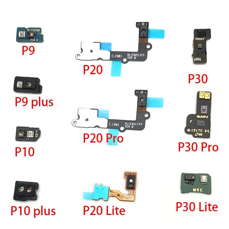 Light Proximity Sensor Flex Ribbon Connector Cable For Huawei P9 P10 Plus P20 P30 Lite Pro Replacement